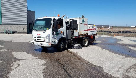 road sweeper cover